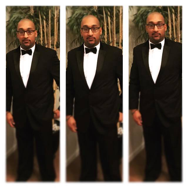 Diamond´s customer Blair M. Johnson rocking one of our tuxedos. We don´t rent Tuxedos - we sell them at prices that are often better than renting!